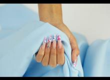 Embedded thumbnail for Marble Effect Acrylic Nails