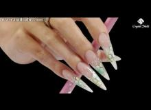 Embedded thumbnail for Brilliant Gel Stiletto and Gel Design